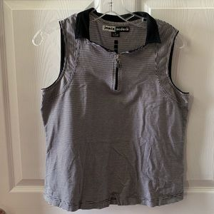 Jamie Sadock Sleeveless Golf Top Shirt Sz M